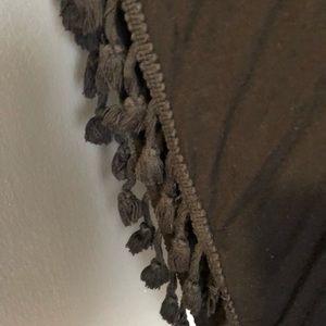Chelsea & Theodore Tops - Black Poncho Shirt
